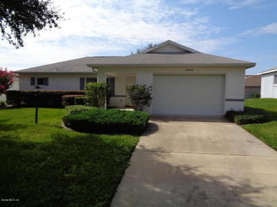 Single Family Home For Sale: 9800 SW 97th Place