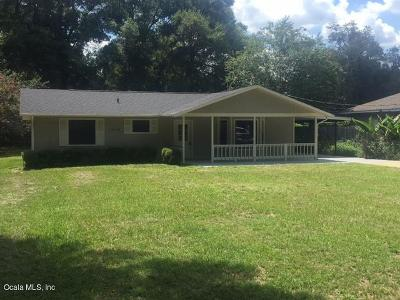 Belleview Single Family Home For Sale: 12246 SE 74th Terrace