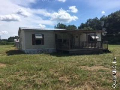 Citra Single Family Home For Sale: 13705 NE 14th Avenue