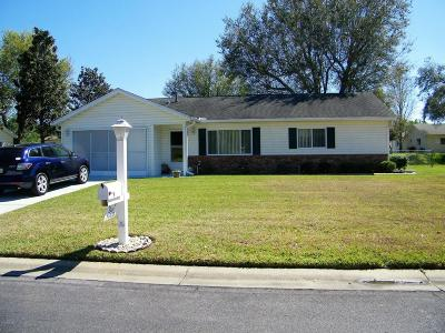 Dunnellon Single Family Home For Sale: 11478 SW 136th Place