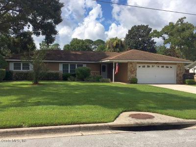 Ocala Single Family Home For Sale: 3972 SE 17 Place