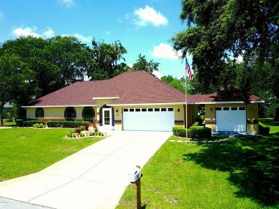 Ocala Single Family Home For Sale: 46 Bahia Trace Circle