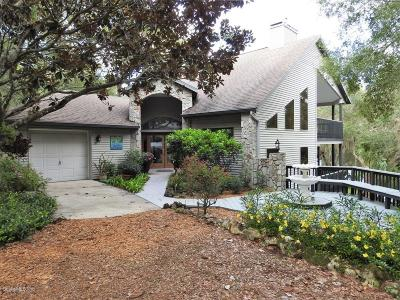 Dunnellon Single Family Home For Sale: 11531 N Hume Point