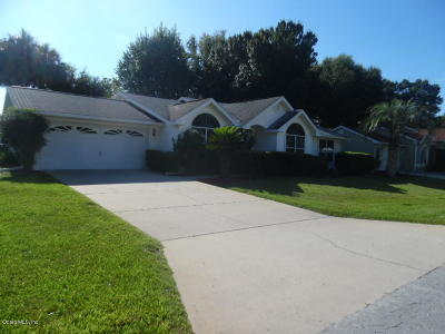 Ocala Single Family Home For Sale: 7734 SW 114th Loop