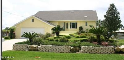 Crystal River Single Family Home For Sale: 2040 NW 17th. Street