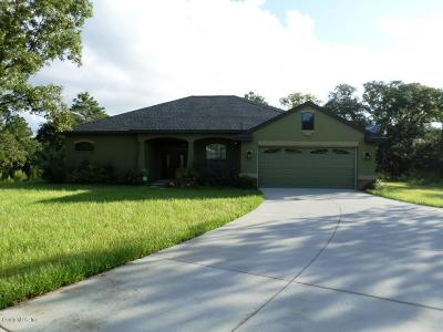 Dunnellon Single Family Home For Sale: 10733 N Ranch Hand Avenue