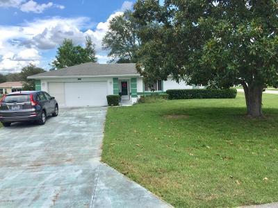 Ocala Single Family Home For Sale: 10543 SW 62nd Terrace