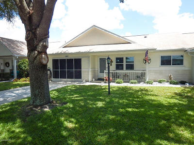 Ocala Single Family Home For Sale: 9689 SW 95th Terrace #C
