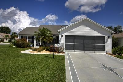 The Villages Single Family Home For Sale: 2620 Caribe Drive