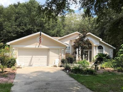 Dunnellon Single Family Home For Sale: 9925 SW 203 Circle