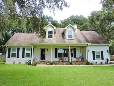 Citra Single Family Home For Sale: 13867 NE Jacksonville Rd