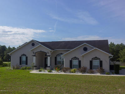 Ocala Single Family Home For Sale: 4680 SW 110th Lane