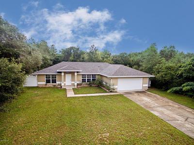Ocala FL Single Family Home For Sale: $139,900