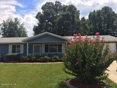 Ocala Single Family Home For Sale: 8180 SW 109th Street Road