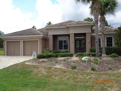 Dunnellon Single Family Home For Sale: 6656 SW 179th Ct Road