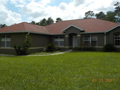 Ocala Single Family Home For Sale: 9612 SW 44th Avenue