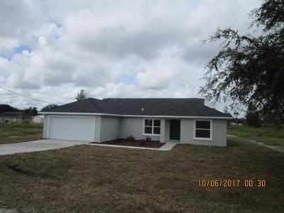 Ocala Single Family Home For Sale: 14 Juniper Dr Course