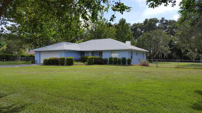 Marion County Single Family Home For Sale: 9140 NE 12 Ct.