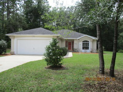 Dunnellon Single Family Home For Sale: 9500 SW 207th Circle