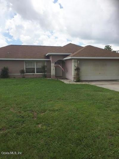 Ocala Single Family Home For Sale: 141 Almond Road