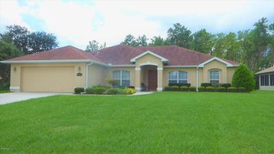 Ocala Single Family Home For Sale: 3910 SW 103rd Street Road