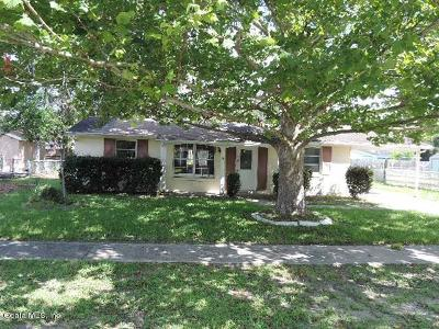 Marion County Single Family Home For Sale: 14292 SW 39th Court Road