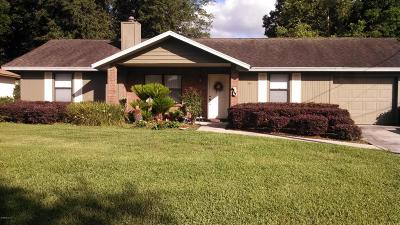 Marion County Single Family Home For Sale: 16 Almond Way