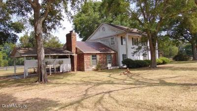 Marion County Single Family Home For Sale: 13651 N Hwy 301