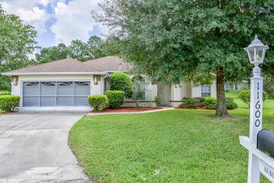 Ocala Single Family Home For Sale: 11600 SW 74 Court