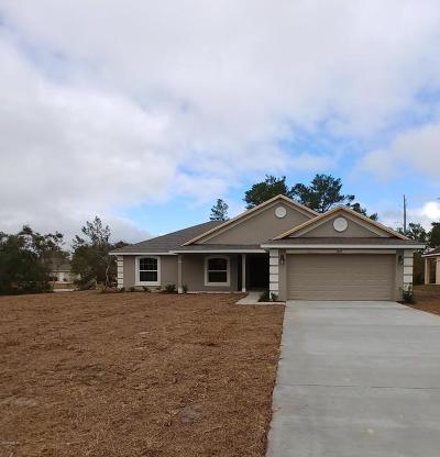 Ocala Single Family Home For Sale: 4695 SW 103rd Street Rd Avenue