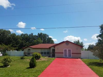 Ocala Single Family Home For Sale: 1710 SW 167th Street
