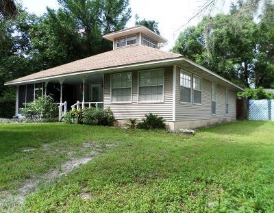 Dunnellon Single Family Home For Sale: 20277 Palmetto Lane