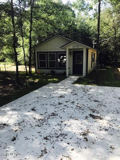 Dunnellon Single Family Home For Sale: 19175 St George Drive