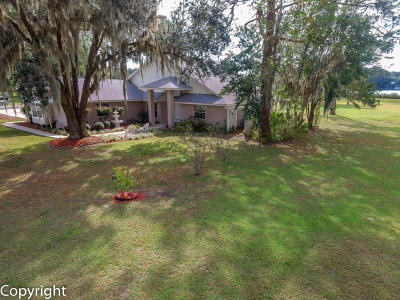 Dunnellon Single Family Home For Sale: 11692 Mockingbird Drive