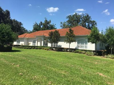 Single Family Home For Sale: 15225 NW 112th Place Road