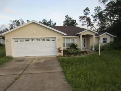 Ocala Single Family Home For Sale: 4725 SW 108th Place