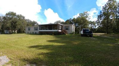Morriston Single Family Home For Sale: 2751 SE 140th Avenue