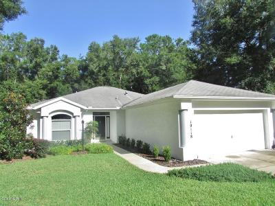 Dunnellon Single Family Home For Sale: 10118 SW 192nd Circle