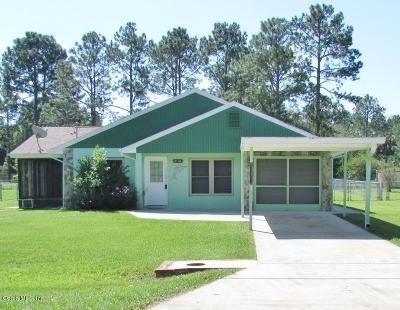 Dunnellon Single Family Home For Sale: 21304 SW Peach Blossom Street