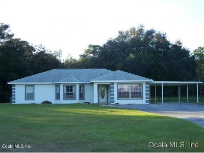 Levy County Rental For Rent: 4760 SE 212th Court