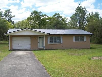 Dunnellon Single Family Home For Sale: 818 NW Ridgewood Road