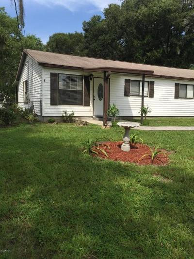 Belleview Single Family Home For Sale: 12048 SE 72nd Terrace Road