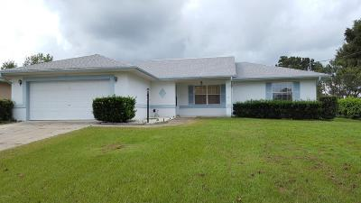 Belleview Single Family Home For Sale: 4252 SE 107th Lane