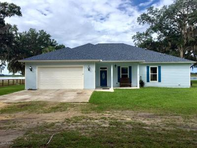 Salt Springs FL Single Family Home For Sale: $698,500