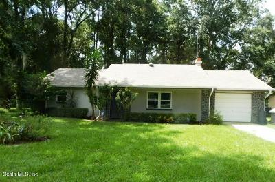 Belleview Single Family Home For Sale: 6200 SE 122nd Lane