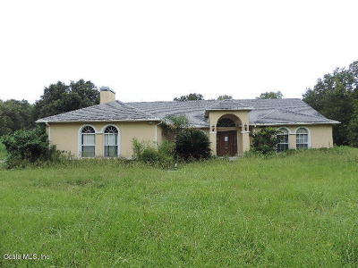 Summerfield Single Family Home For Sale: 3040 SE 160th Lane Road