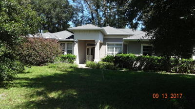 Belleview Single Family Home For Sale: 10221 SE 42nd Terrace
