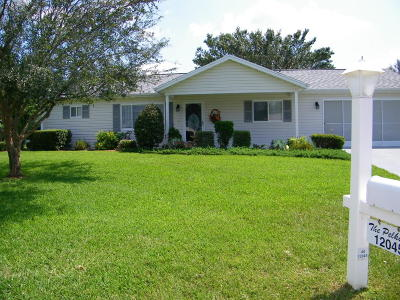 Dunnellon Single Family Home For Sale: 12045 SW 137th Loop