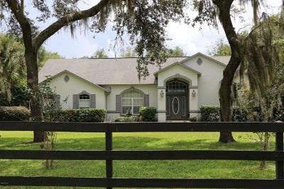 Ocala Single Family Home For Sale: 5350 SW 33rd Street