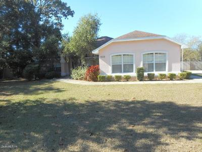 Ocala Single Family Home For Sale: 3509 SW 34th Ave Circle